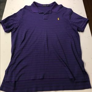 Polo by Ralph Lauren purple short sleeve polo